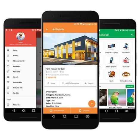 Adforest - Classified Ads App for Android