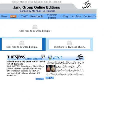 Daily News Karachi •