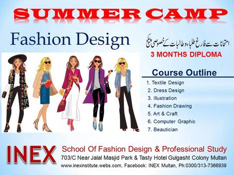 Inex Institute Of Textile Fashion Design Multan Multan Inex Institute Webs Com