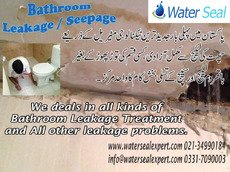 Bathroom Leakage / Seepage in Pakistan-