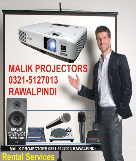 Rental Services of Projectors, Screens, LCD, LED Sound, SMD