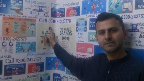 SMS Marketing Pakistan, Branded sms, sms Reseller, • Karachi
