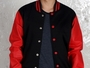 Varsity Wool Leather Jackets BI-1056