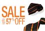 Get Upto 57% Off on best colors & styles of men's Ties on Online Shop
