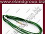 Green Silk Aiguillette