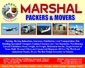 Marshall Packers and Movers, Islamabad, Pakistan