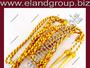 Burgundy & Gold Bullion Wire & Mylar Aiguillettes