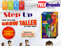Height Increase Step Up in Pakistan - 03215553257