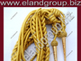 Gold Mylar Wire Aiguillette With Gold Tips